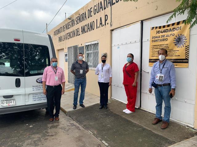 Mantiene Secretaria de Salud  vigilancia epidemiológica en asilo