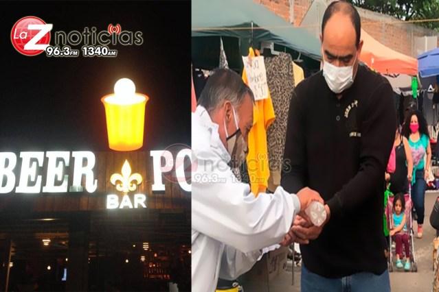 Los municipios tomamos decisiones y en Morelia ni tianguis ni bares van a cerrar asegura Raúl Morón