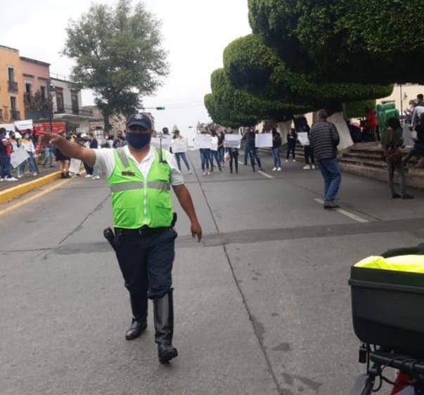 Vigila SSP manifestaciones registradas en Morelia