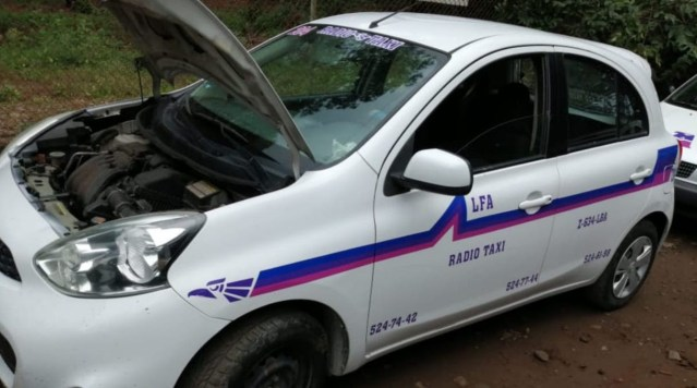 Asegura SSP a uno en posesión de un vehículo con reporte de robo y una réplica de arma de fuego