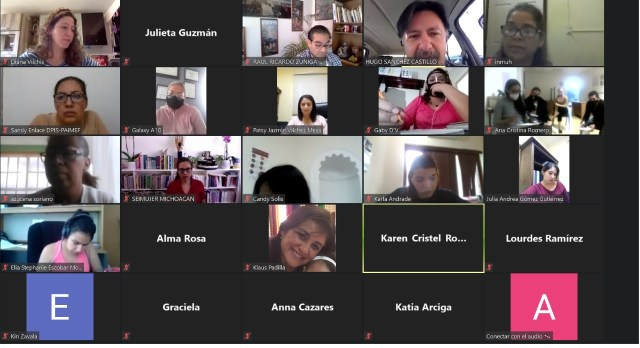 Arranca Seimujer curso de especialización a personal de Centros Fijos de Atención a Mujeres