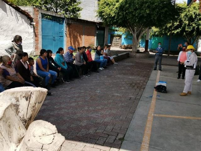 Refuerza SSM acciones vectoriales en el municipio de Cuitzeo