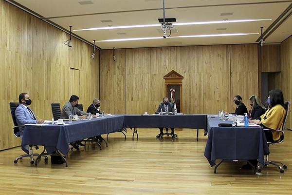 Para dar celeridad a los asuntos, el Consejo del Poder Judicial y sus comisiones permanentes realizan sesiones semanales