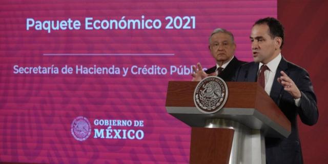 Estimado del PIB en 4.6% para 2021 no es optimista, sino responsable: SHCP
