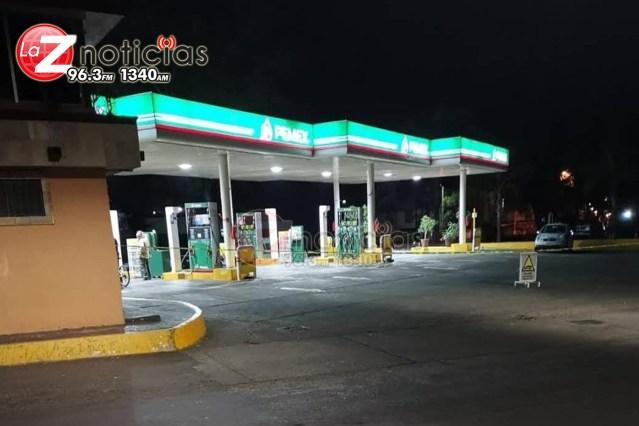 Empistolado asalta gasolinera en la Félix Ireta