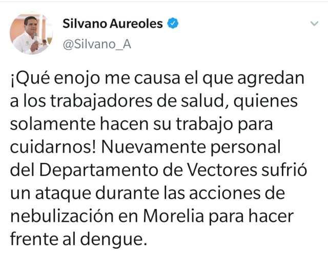 Ante agresiones al personal, suspende SSM acciones contra el dengue en Morelia