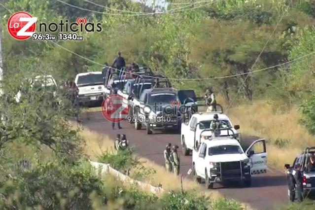 Dejan 7 ejecutados en carretera de Tangamandapio