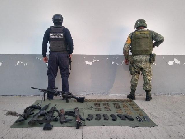 Durante el mes de noviembre, aseguradas 51 armas de fuego y mil 490 cartuchos: SSP