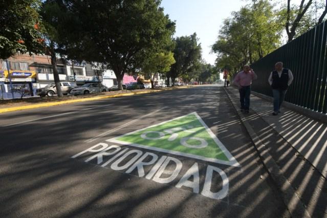Polémica ciclovía de Avenida J.Múgica costará más de 4 millones de pesos y se prevé terminará el 22 de diciembre