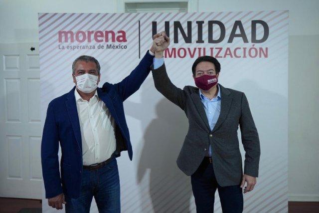 Morón candidato de Morena al Gobierno Estatal