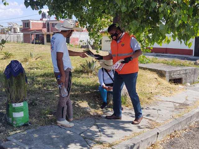 Gobierno de Morelia refuerza estrategia de prevención sanitaria