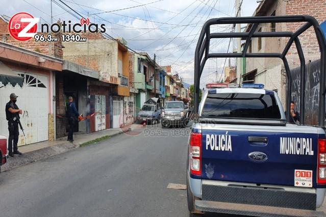 Localizan cadáver putrefacto y baleado en un domicilio de la colonia Miguel Regalado de Zamora