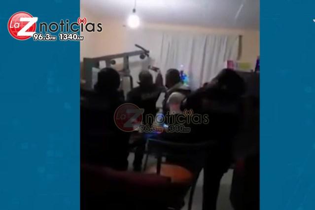 Entre música de banda, disparos al aire y uniformados, Policías de Morelia «festejan»; dice Raúl Morón que «se va a investigar»