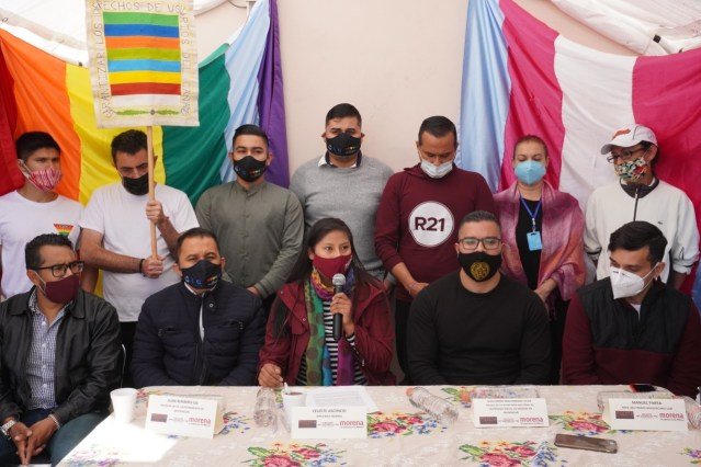 Piden espacios para la comunidad LGTB+ en Morena
