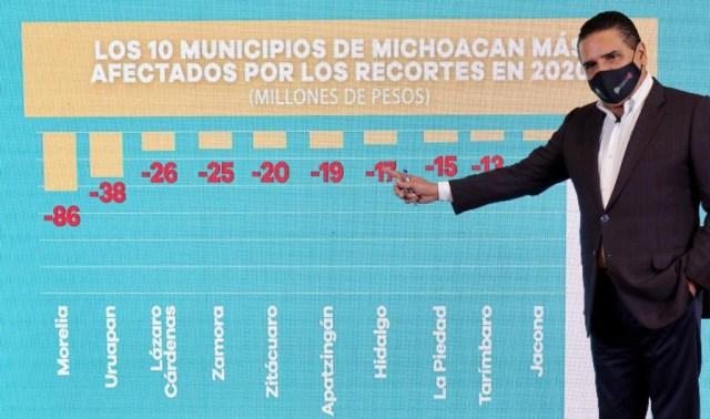 Complicaciones financieras en Michoacán, por recortes de la Federación: Silvano Aureoles