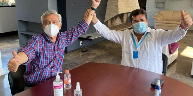 Cristóbal Arias ya negocia candidatura fuera de Morena