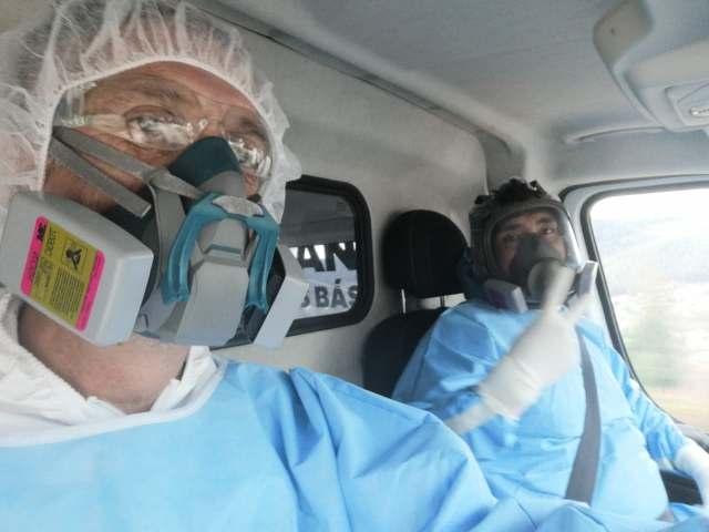 Paramédicos de la SSM reciben primera dosis de la vacuna contra el COVID-19