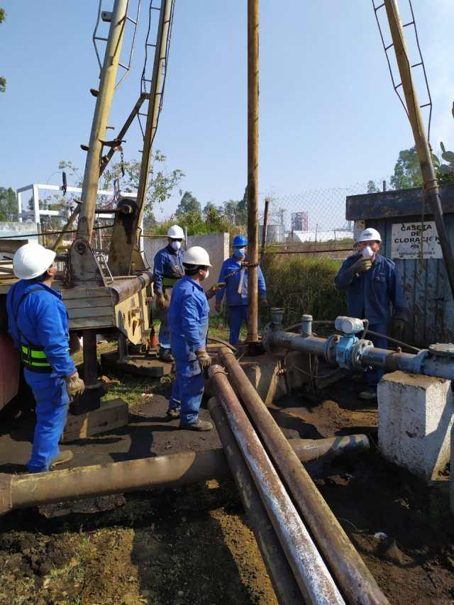 Esta semana, cuatro pozos a mantenimiento en Morelia