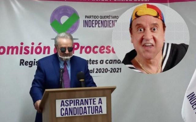 'Quico' se registra para buscar candidatura a gobernador de Querétaro