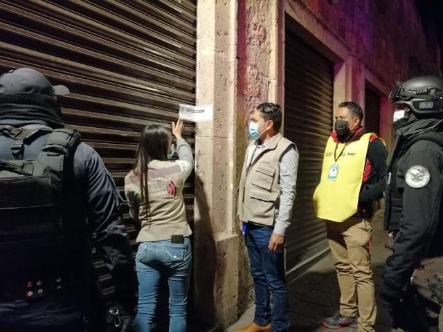 Suspende Guardianes de la Salud 4 bares en Morelia, por incumplir con normas sanitarias