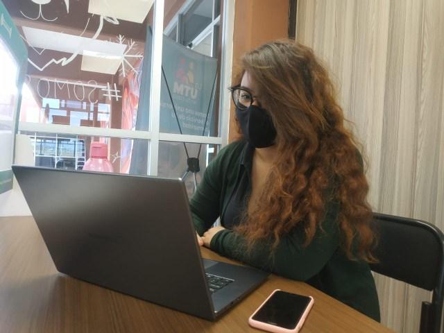 Retoman actividades escolares en línea estudiantes de la UTM