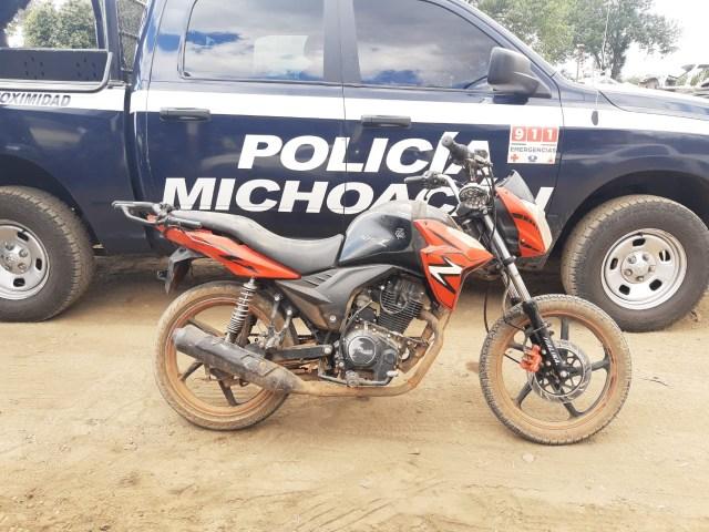 Asegura SSP dos motocicletas con alteraciones en sus medios de identificación