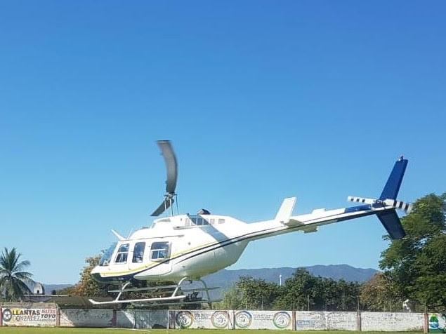Trasladan vía aérea a dos menores, de Huetamo al Hospital Infantil