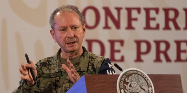 Titular de Marina, José Rafael Ojeda, da positivo a COVID-19 por segunda ocasión