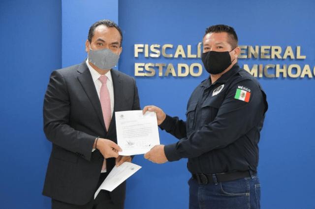 Avanza FGE en el fortalecimiento de la Unidad Canina (K9): Adrián López Solís