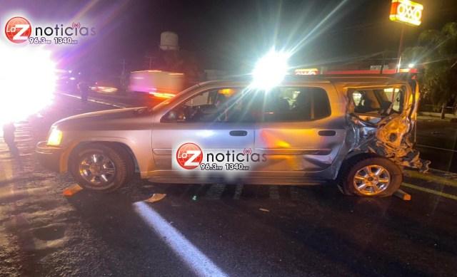 Muere niña tras choque entre 2 vehículos en Calzada La Huerta, Morelia