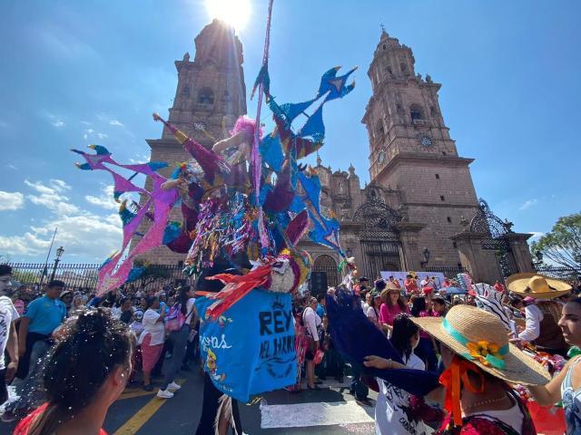 Gobierno de Morelia suspende desfile y permisos del Festival de Toritos de Petate
