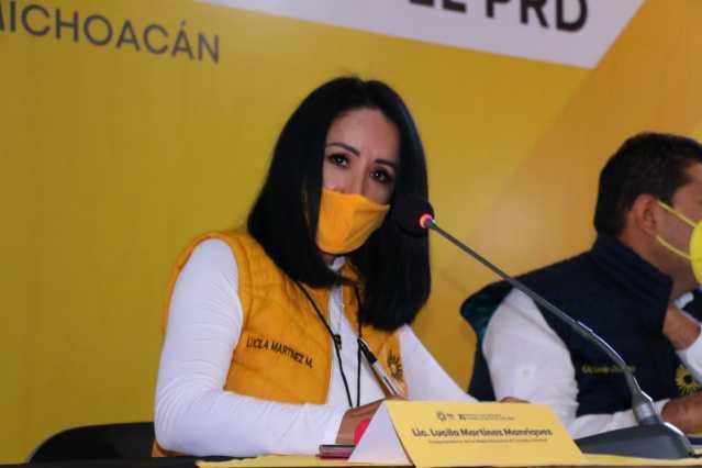 Lucila Martínez reconoce acciones para la atención de las migrantes en Michoacán
