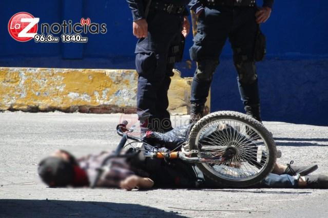 """Asesinan a """"El Paletas"""" cuando viajaba en su bicicleta en Zamora"""