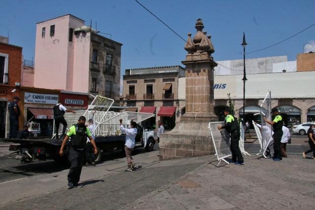 Esta semana, decidirá Ayuntamiento si acata la medida del Estado de cerrar plazas públicas