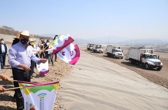 Inaugura Gobernador obras para el correcto manejo de basura en Zamora y Jacona