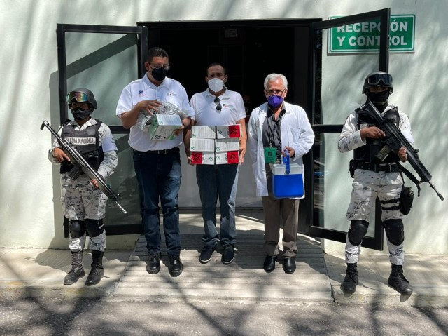 Recibe SSM 7 mil dosis de vacuna contra COVID-19 para personal de primera línea