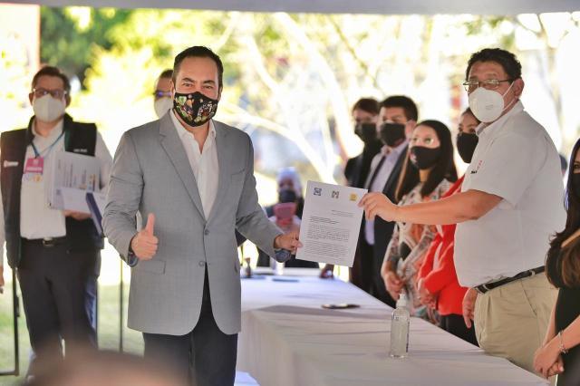 Elementos de Policía Michoacán obligados a operar en redes a favor de Carlos Herrera