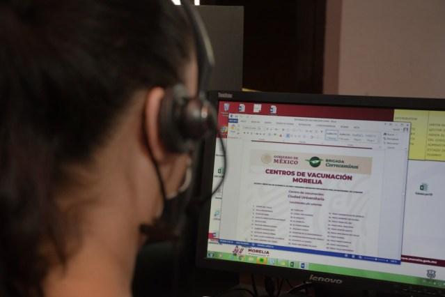 Gobierno de Morelia apoya ante dudas en Plan de Vacunación en Morelia