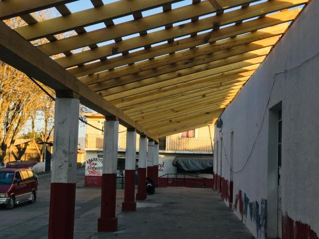 Gobierno de Morelia supervisa rehabilitación de jefatura en San Nicolás Obispo