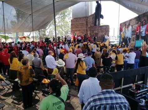 Por no tramitar permiso, Ayuntamiento «analiza» si impone multa o solo llama la atención a organizadores de evento político del pasado domingo