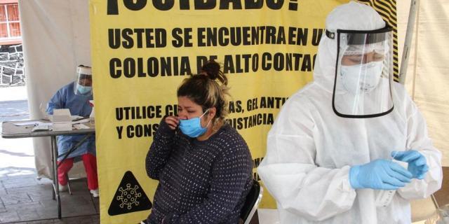 COVID-19 en México: se superan los 205 mil decesos por el virus este martes