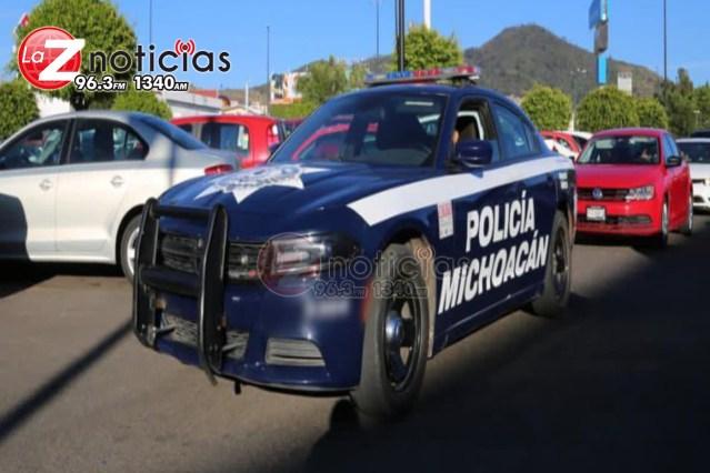 Cuentahabiente es víctima de ladrones al sur de Morelia
