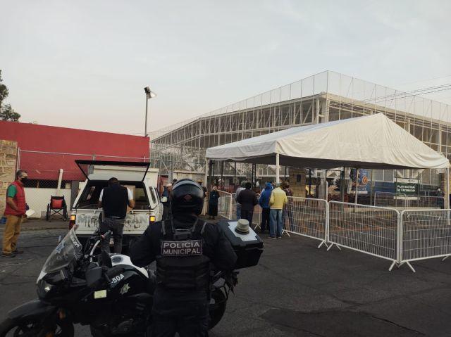 Prevalece operativo vial por Jornada de vacunación en Morelia