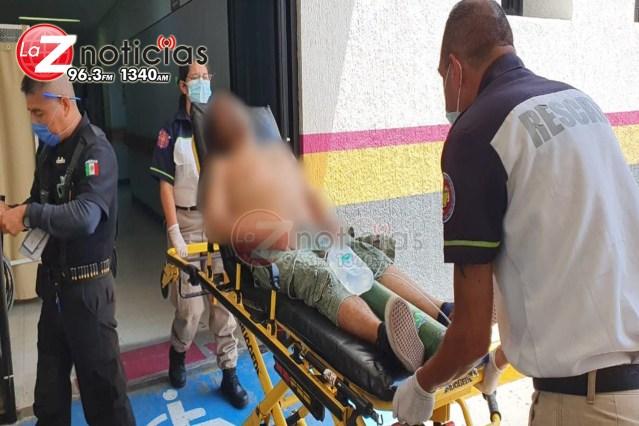 Hombre es baleado en la colonia La libertad de Zamora