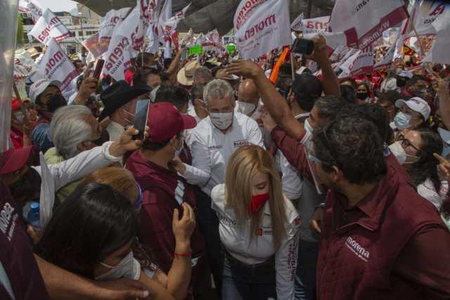 La fuerza de Morena está en la gente y su esperanza de cambio: Bedolla