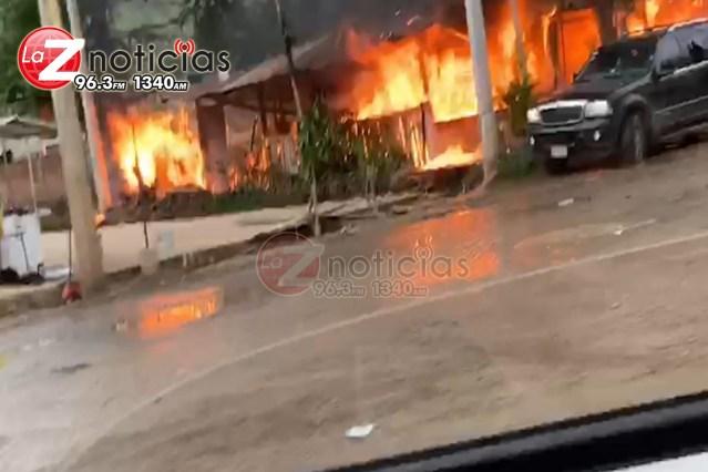 Asesinan a Margarito el birriero en Coalcomán y queman su restaurante