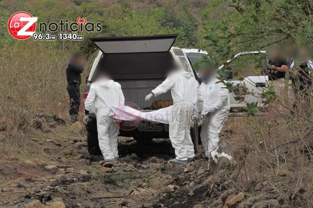 Hallan cadáver putrefacto en paraje de la carretera Morelia- Chiquimitío