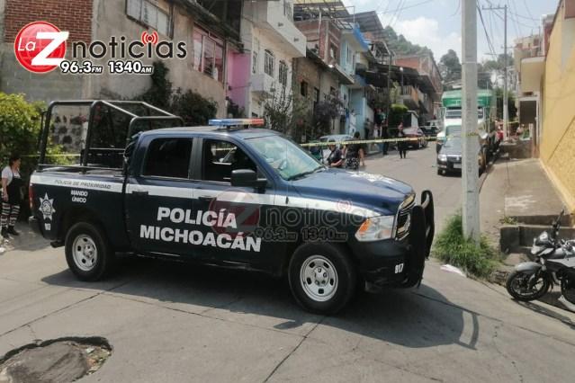 Empistolados matan a hombre en la colonia Buenos Aires, en Uruapan