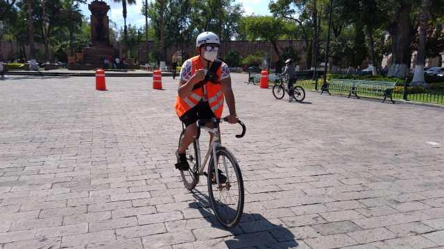 Semovep Morelia reactiva BiciEscuela próximo sábado