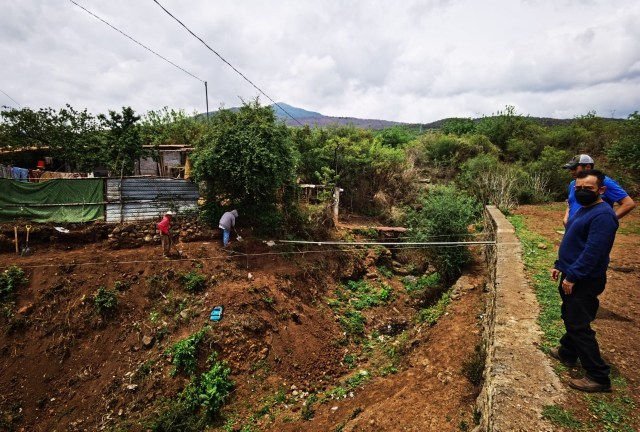 Gobierno de Morelia avanza con construcción de puente peatonal en Tacícuaro